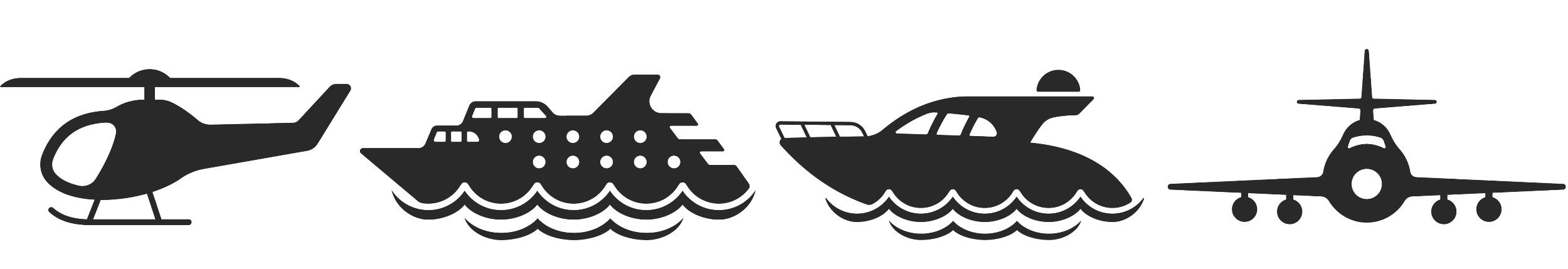 Аренда премиум самолета, вертолета и яхты