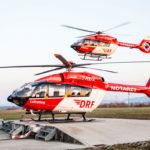 DRF Luftrettung начала эксплуатацию первого вертолета Airbus H145 с пятилопастным винтом